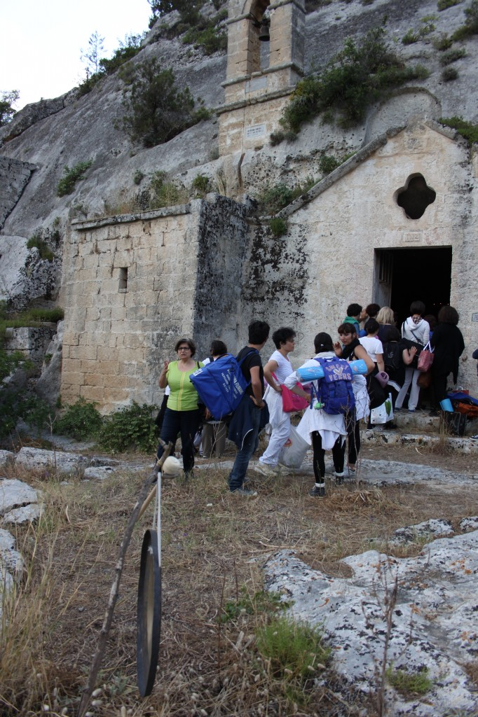 GTM Gong Itinerary Cristo la selva  Matera 019
